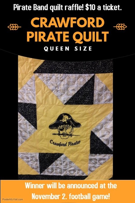 Crawford Pirate Quilt