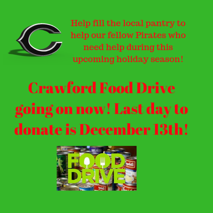 Crawford Food Drive