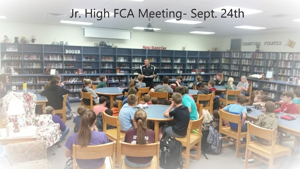 Jr. High FCA Meeting